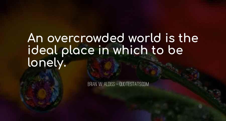 Overcrowded Quotes #1611749