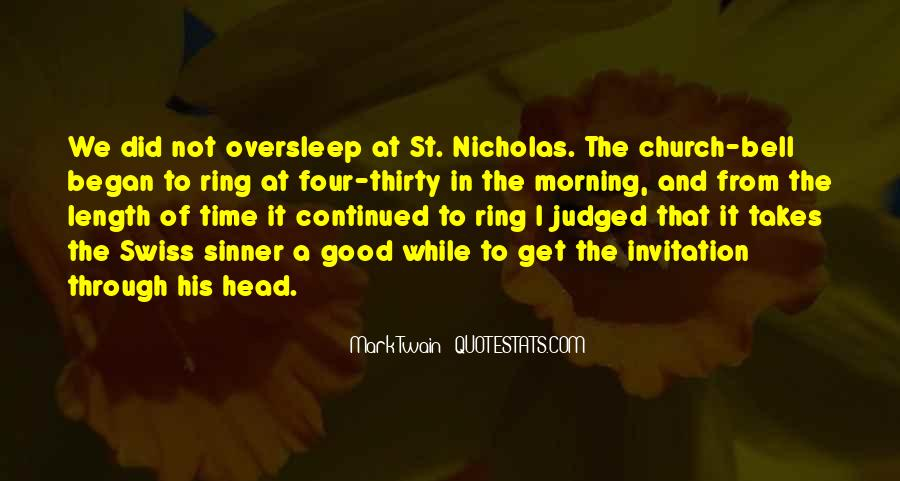 Oversleep Quotes #1318911