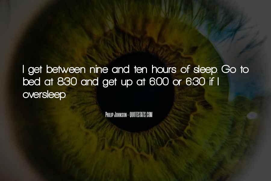 Oversleep Quotes #652494