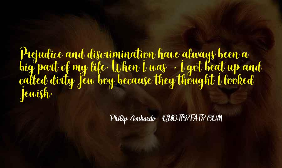 Quotes About Jewish Discrimination #1546104