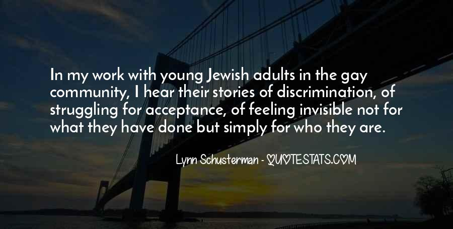 Quotes About Jewish Discrimination #818269