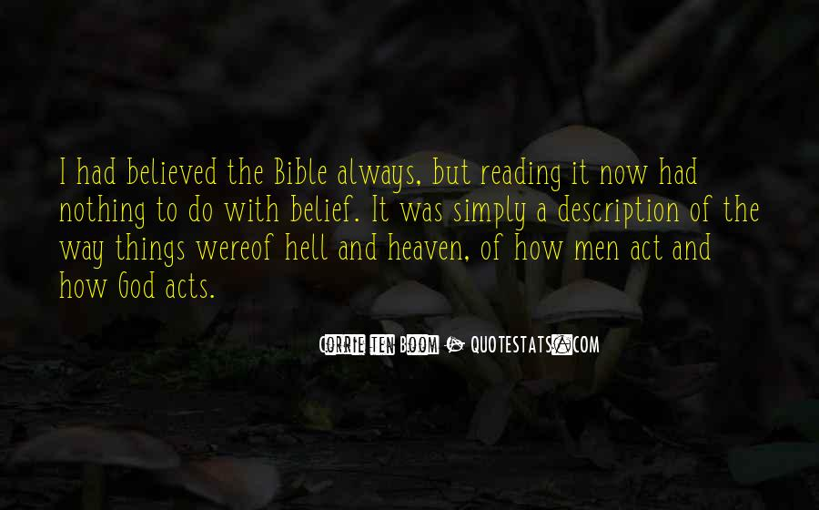 Quotes About Heaven And Hell In The Bible #1043782