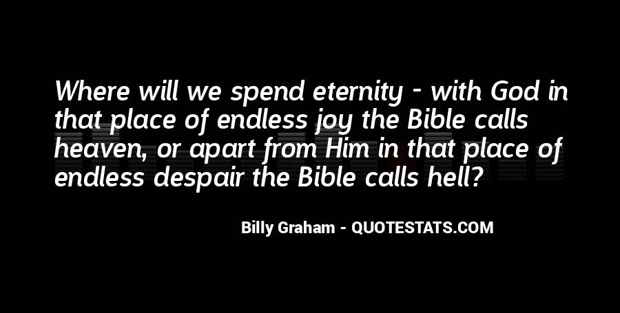 Quotes About Heaven And Hell In The Bible #323135