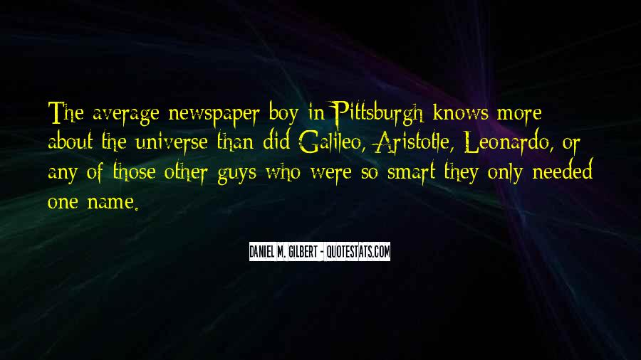 Quotes About Smart Boy #341709
