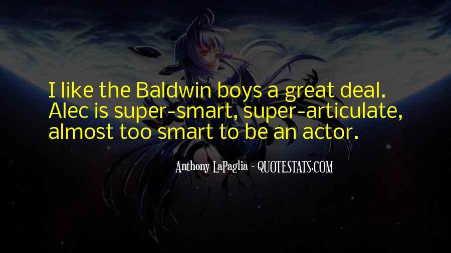 Quotes About Smart Boy #8595