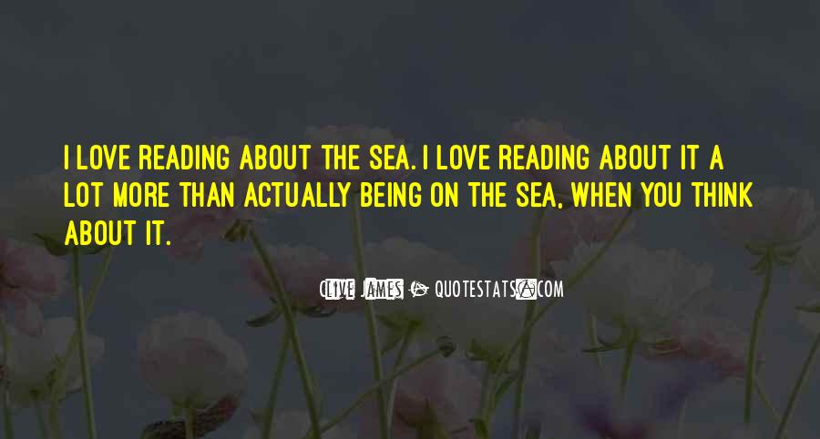 Quotes About Being Out At Sea #129929