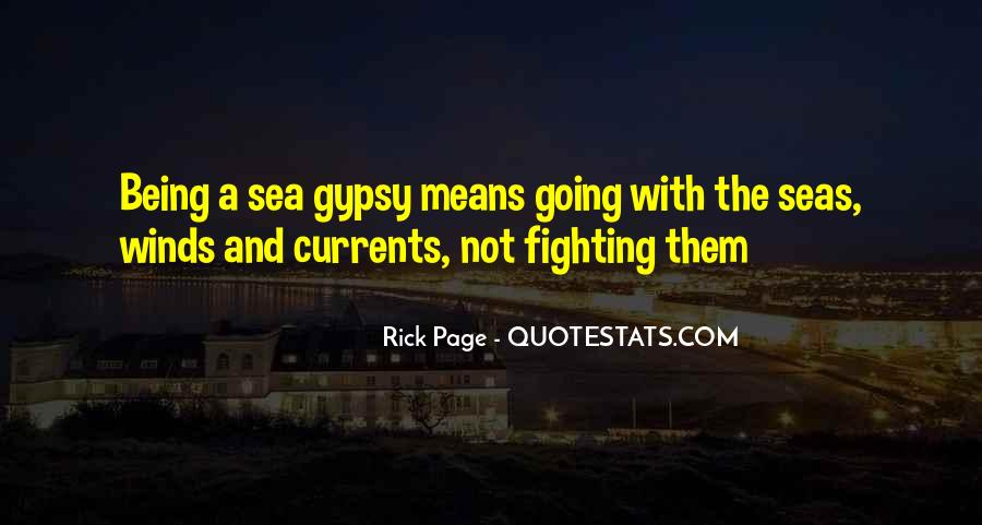 Quotes About Being Out At Sea #136407