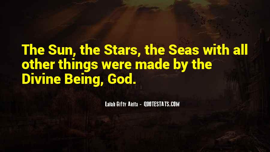 Quotes About Being Out At Sea #97061