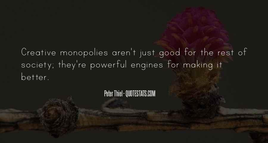 Quotes About Monopolies #1062014