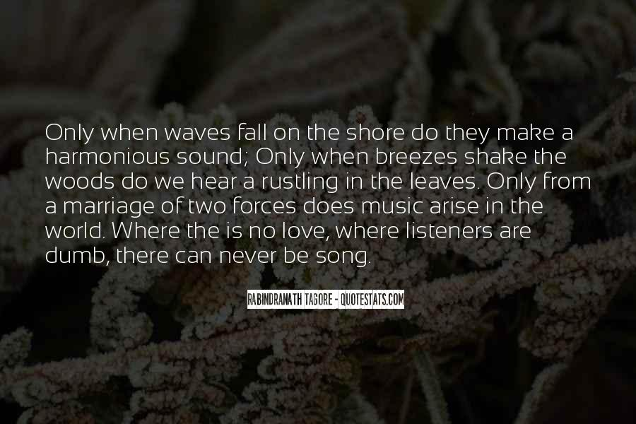 Quotes About The Sound Of Waves #1122876