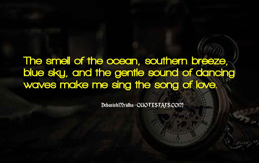 Quotes About The Sound Of Waves #1302513