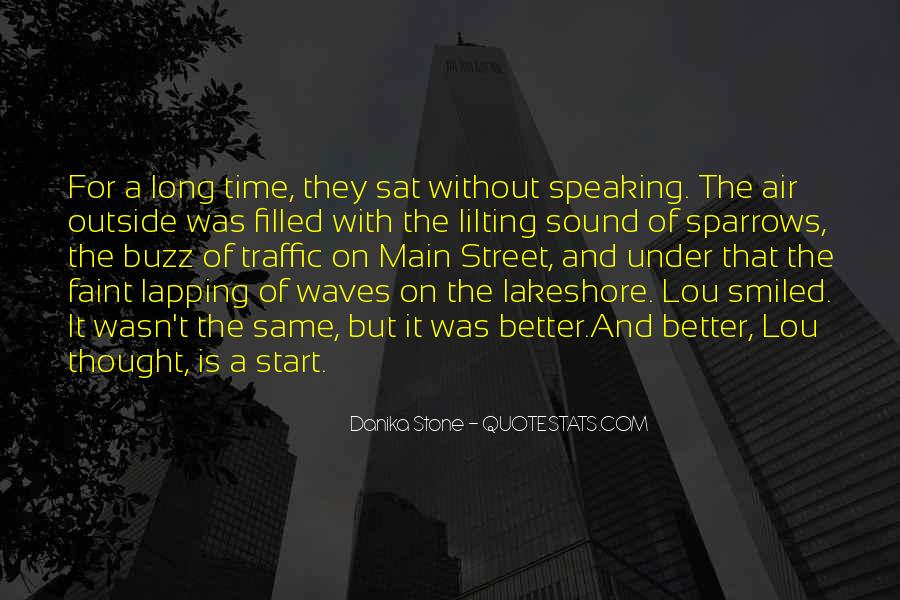 Quotes About The Sound Of Waves #1348493
