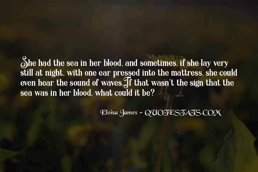 Quotes About The Sound Of Waves #1384214