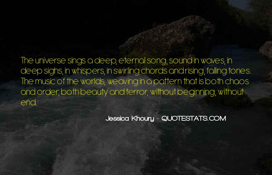 Quotes About The Sound Of Waves #279885