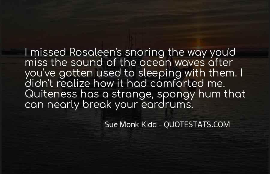 Quotes About The Sound Of Waves #779344