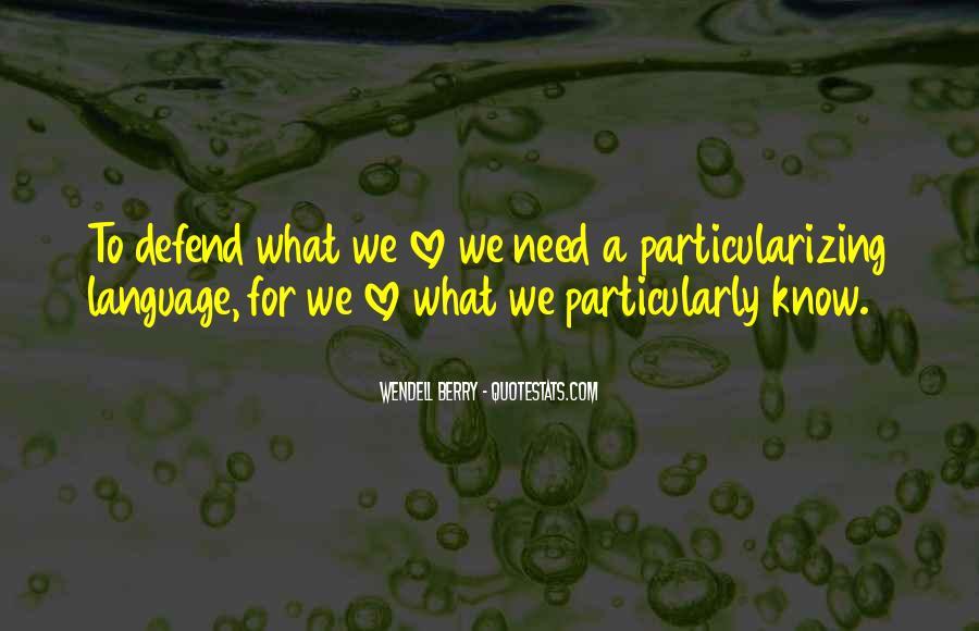 Particularizing Quotes #933605
