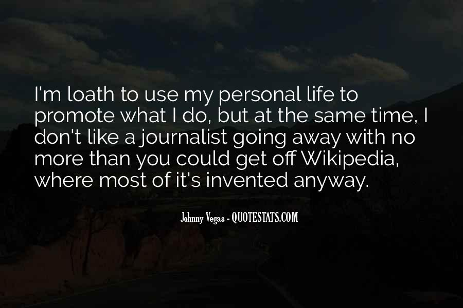 Quotes About Life Wikipedia #1647289