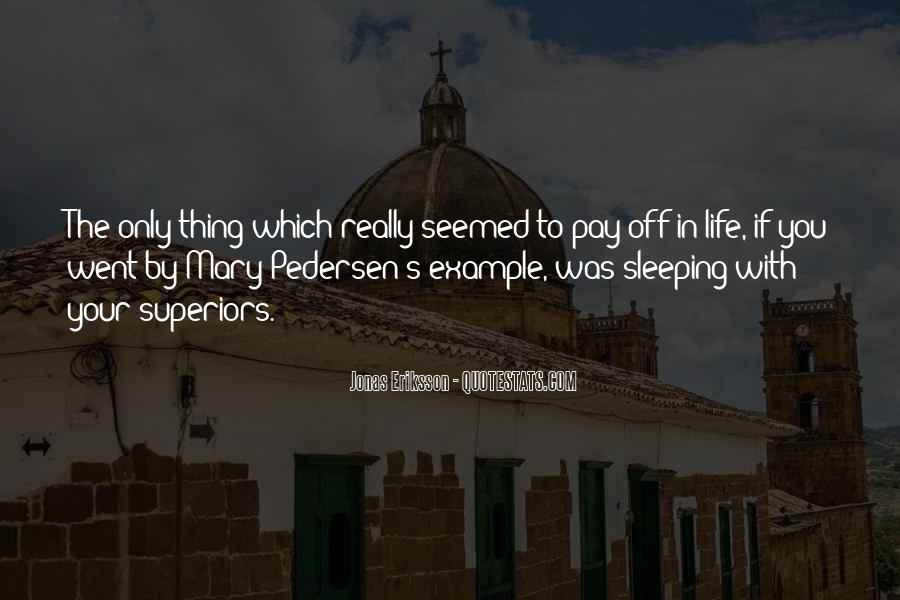 Pedersen Quotes #1548084