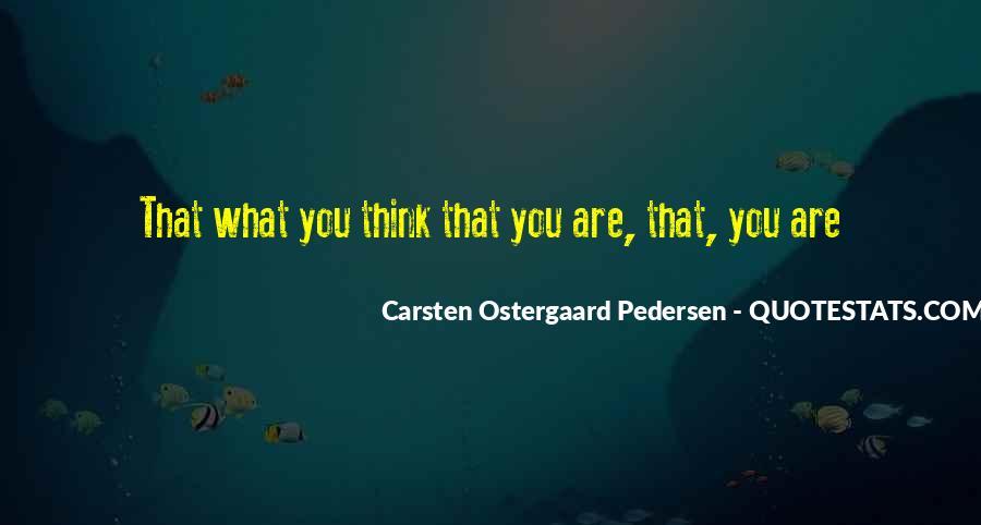 Pedersen Quotes #956185