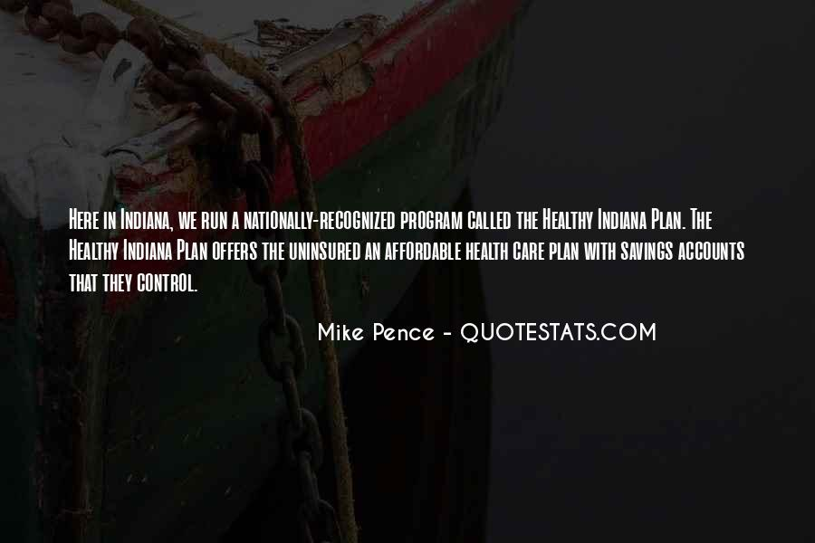 Pence Quotes #250461