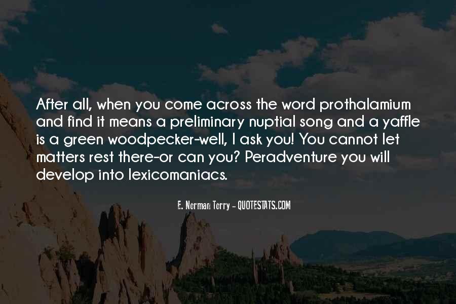 Peradventure Quotes #983486