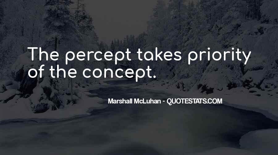 Percept Quotes #692716