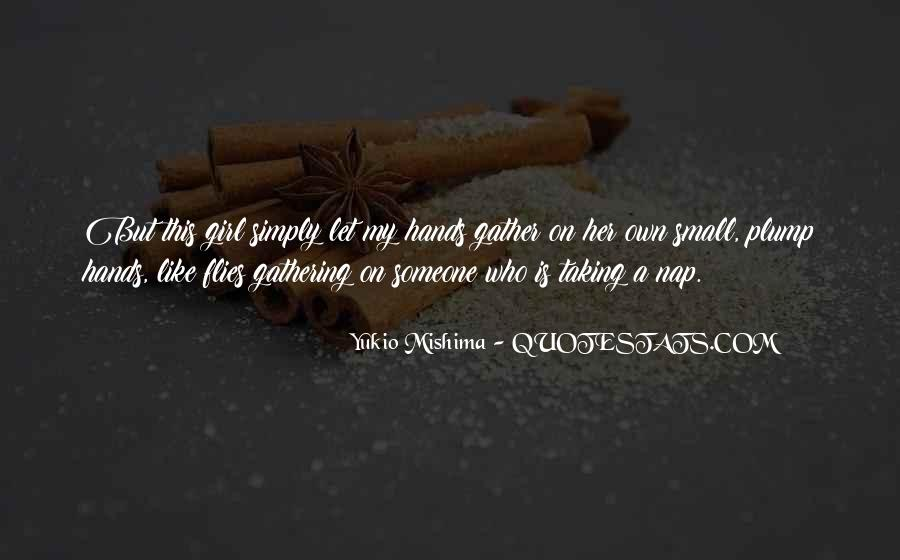 Quotes About Small Hands #15079