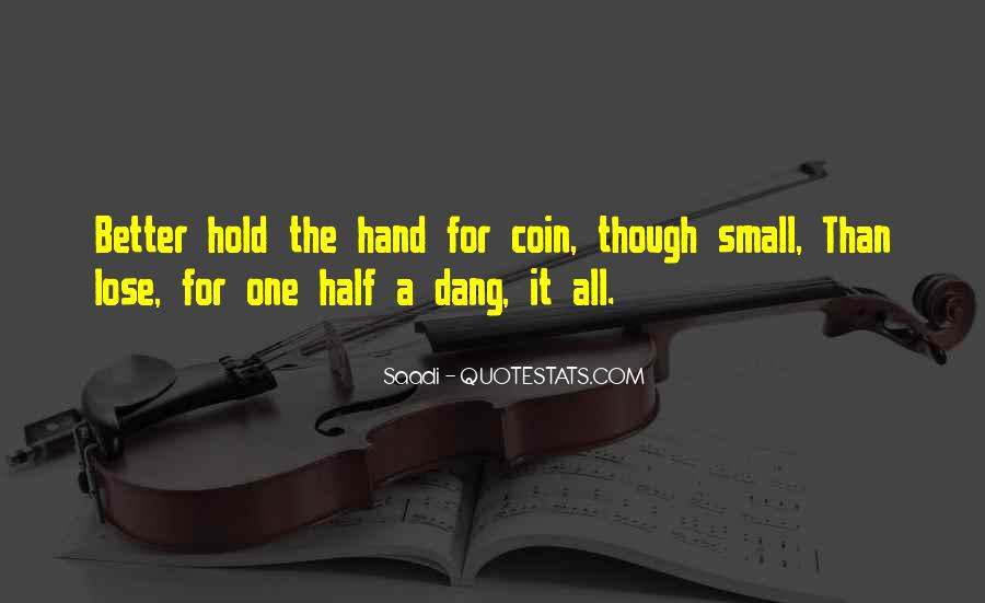 Quotes About Small Hands #411114