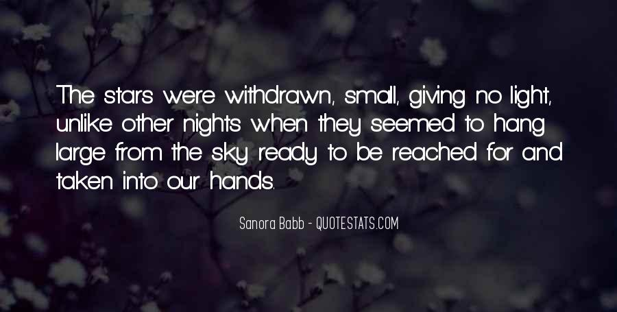 Quotes About Small Hands #873169