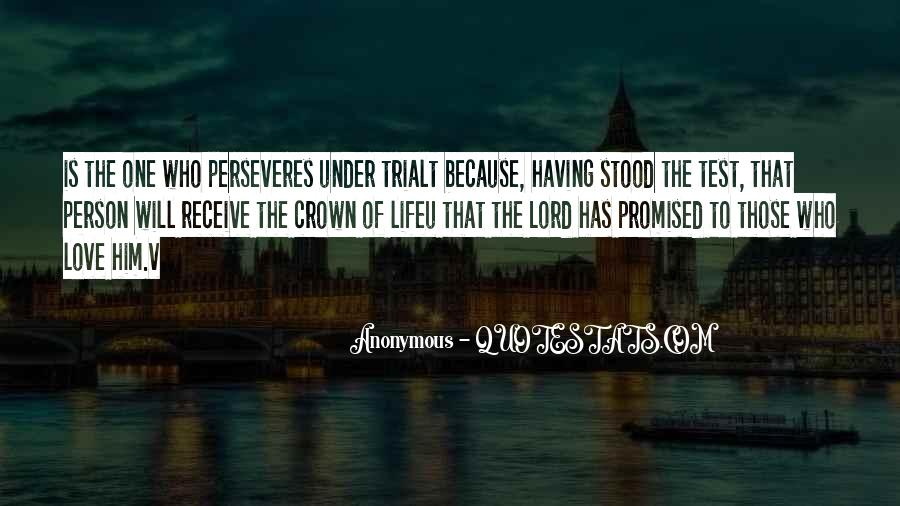 Perseveres Quotes #1688699