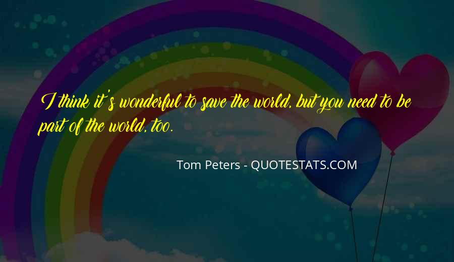 Peters's Quotes #1169027