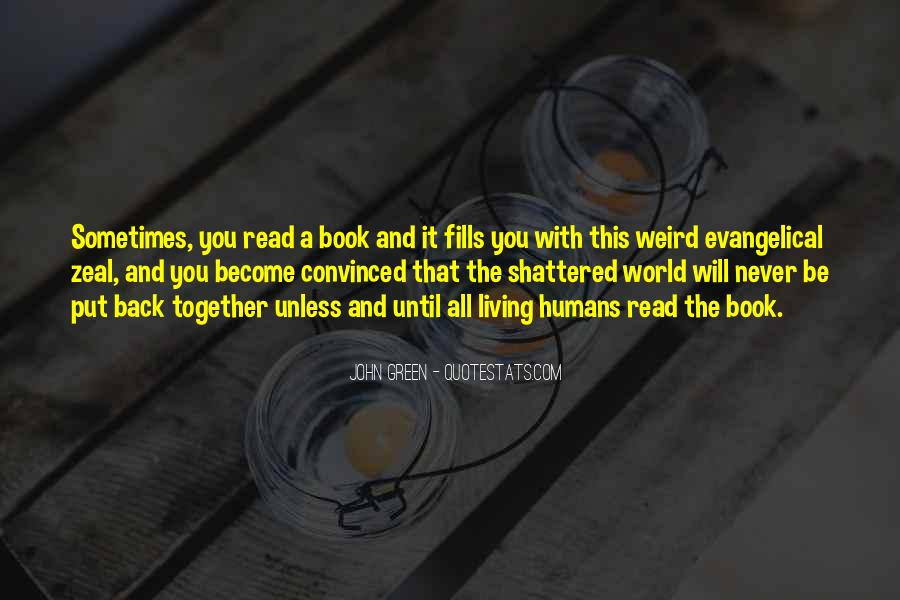 Quotes About Reading John Green #101565