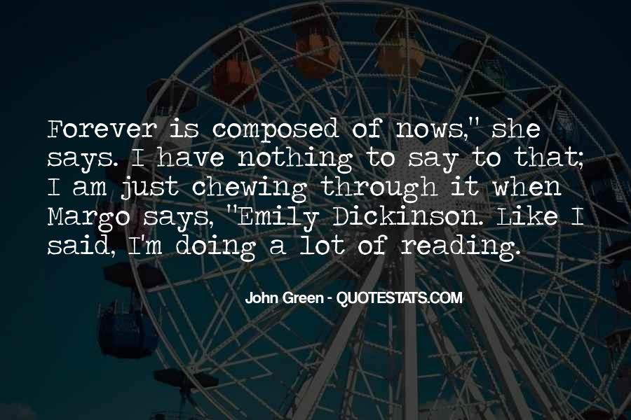 Quotes About Reading John Green #1076956