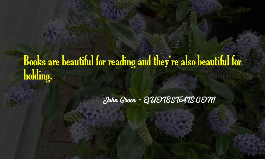 Quotes About Reading John Green #1268501