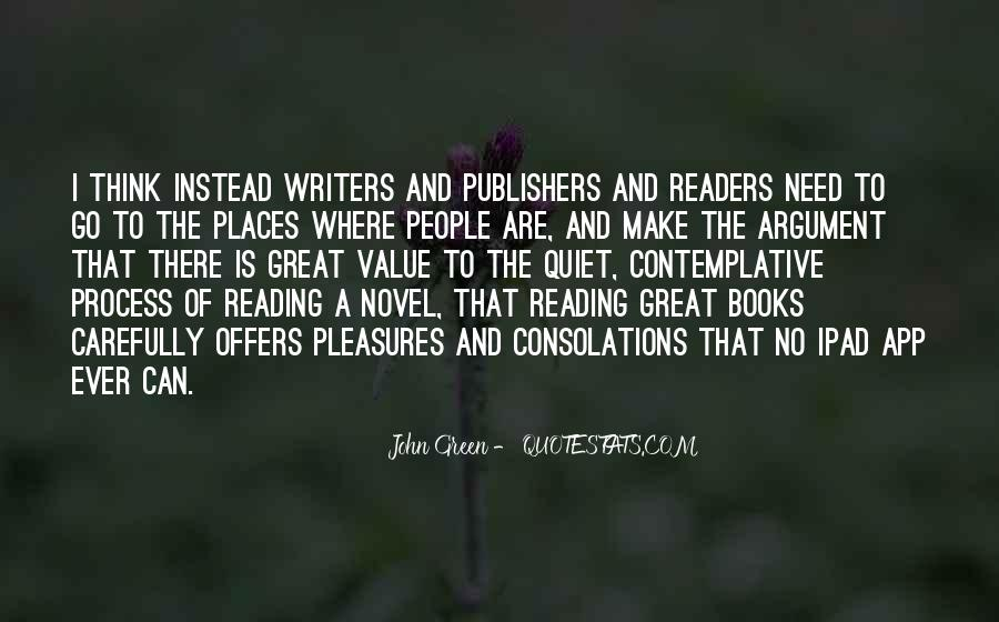 Quotes About Reading John Green #1632108