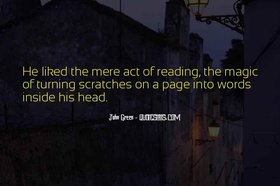 Quotes About Reading John Green #1714637