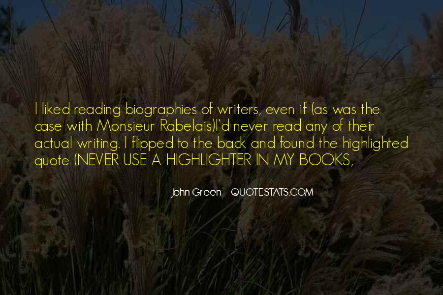 Quotes About Reading John Green #1764173