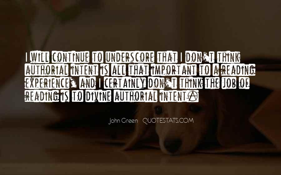 Quotes About Reading John Green #214176