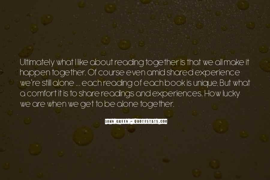 Quotes About Reading John Green #252620