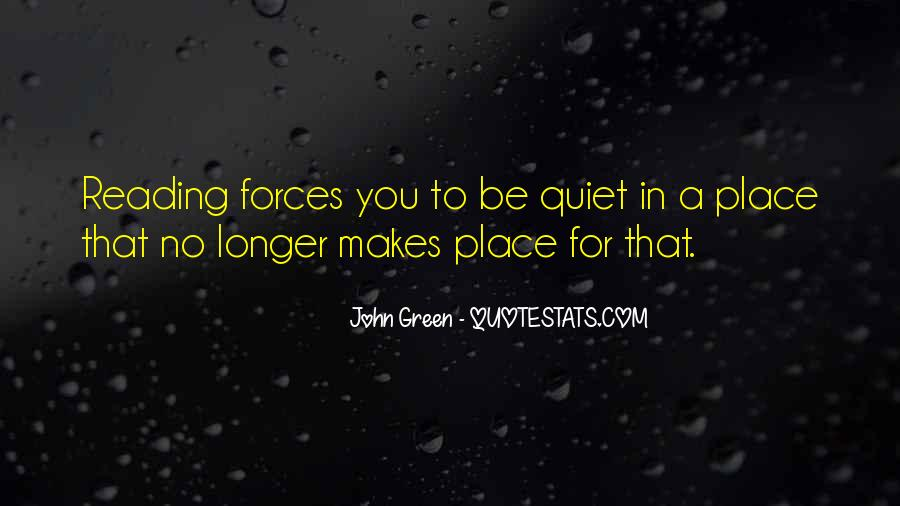 Quotes About Reading John Green #390023