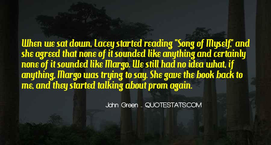 Quotes About Reading John Green #601189