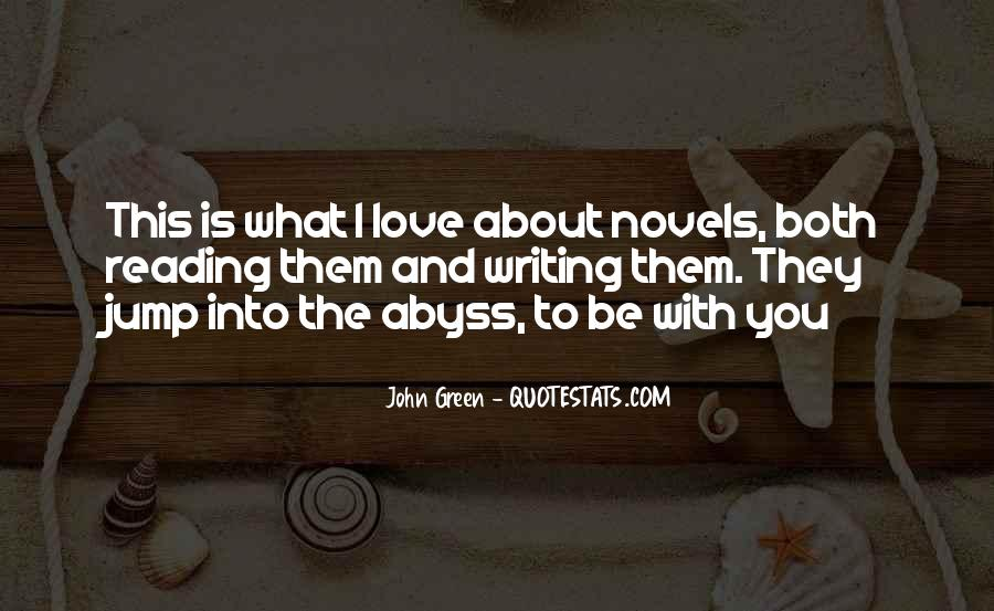 Quotes About Reading John Green #676914
