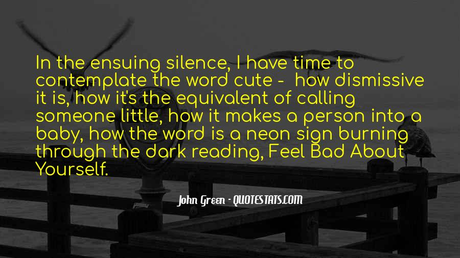 Quotes About Reading John Green #708879