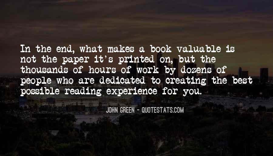 Quotes About Reading John Green #940646