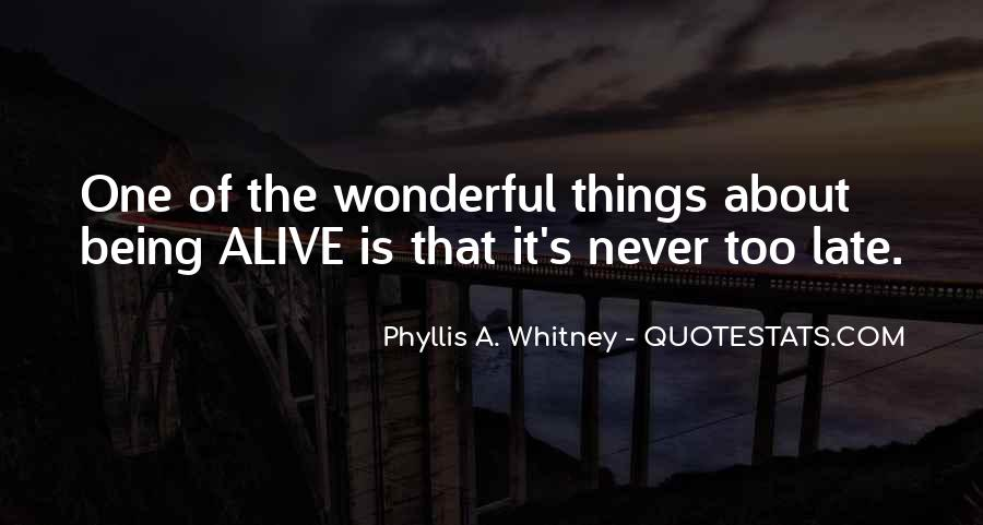 Phyllis's Quotes #1282701