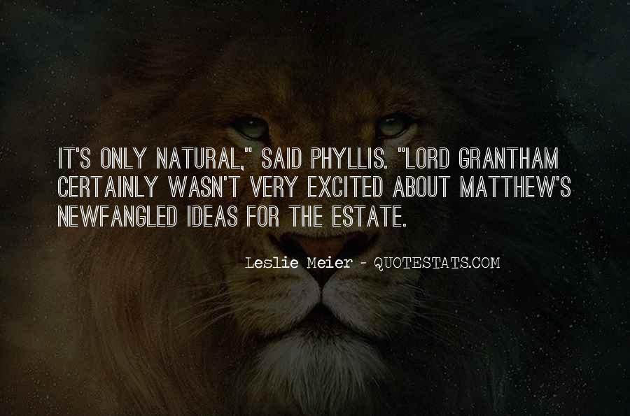 Phyllis's Quotes #1370653