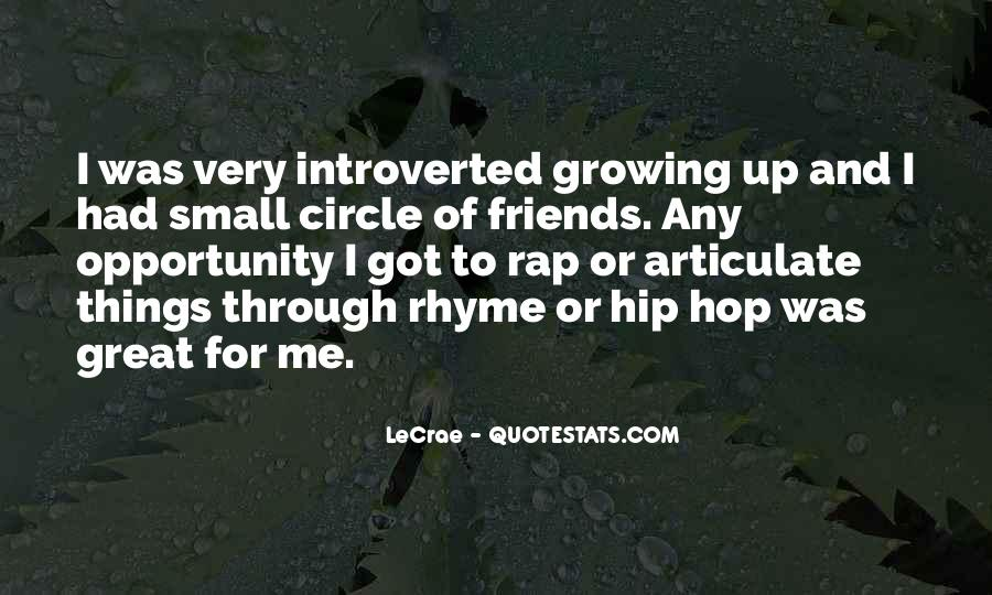 Quotes About Small Circle Of Friends