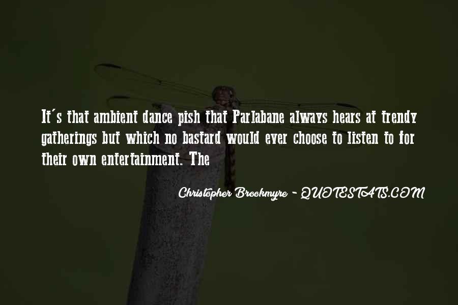 Pish Quotes #507329