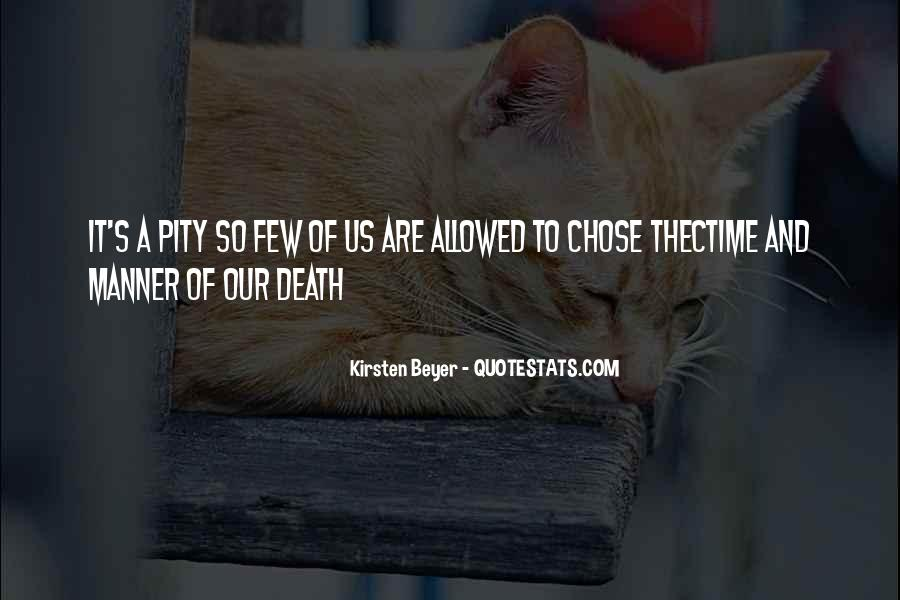 Pity's Quotes #188995