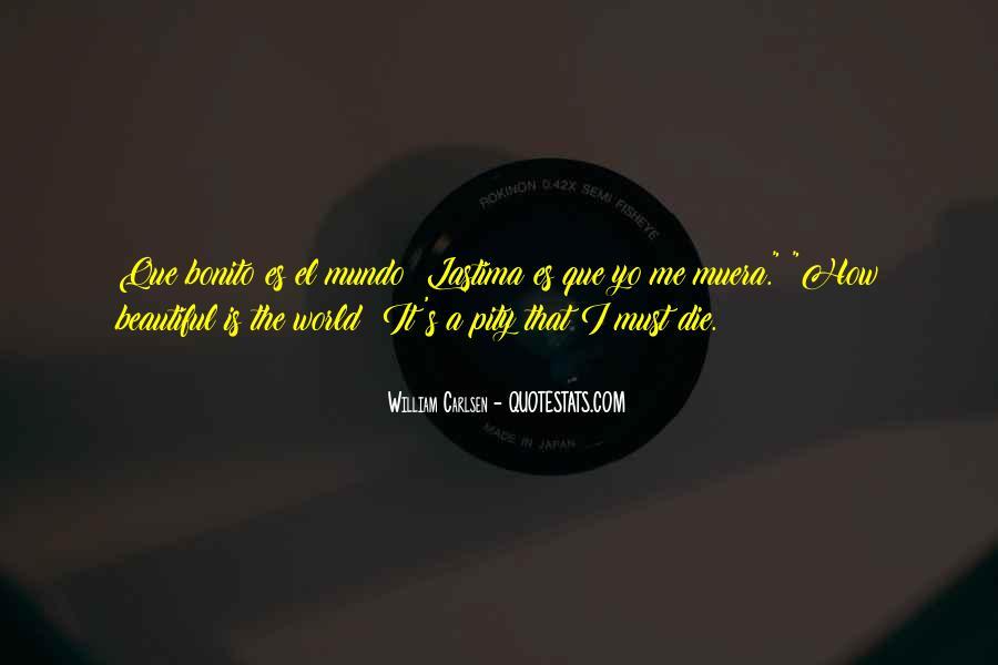 Pity's Quotes #244318